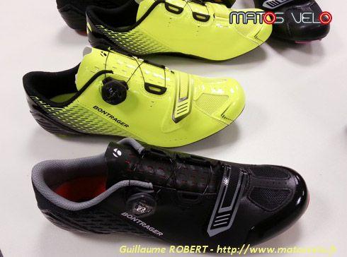 Quantité limitée bonne texture Prix 50% Nouvelles chaussures Bontrager Specter, Velocis, Meraj et ...