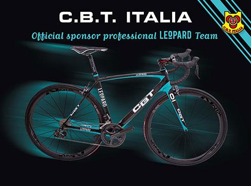 C b t italia partenaire du team leopard matos v lo for B et b italia