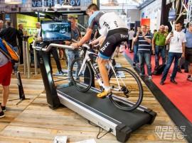 Eurobike Tacx Magnum Le Home Trainer Tapis Roulant Pour V Lo Matos V Lo Actualit S V Lo De
