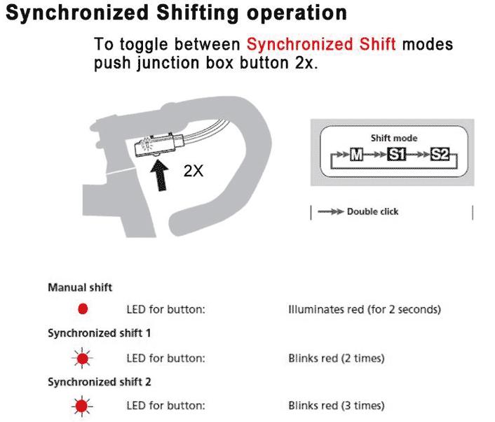 shimano apporte le synchro shift aux groupes di2 ultegra 6870 et dura ace 9070 matos v lo. Black Bedroom Furniture Sets. Home Design Ideas