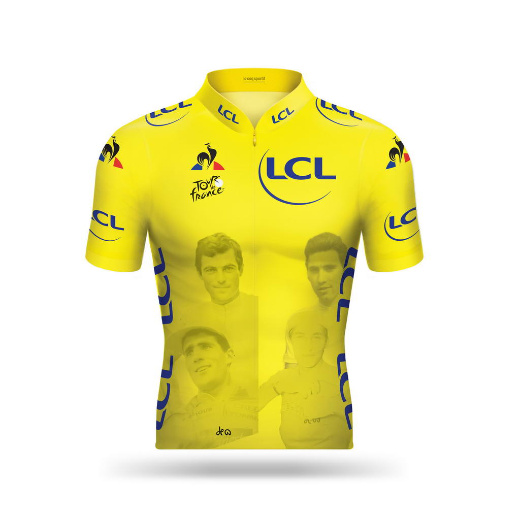 beeefa55c8ca7 20 pièces uniques pour le maillot jaune du centenaire - Matos vélo ...