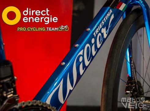 Wilier triestina revient dans la course avec direct - Direct energie simulation ...