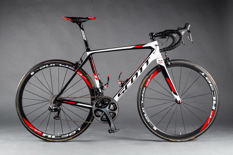 Custom Paint Carbon Bike