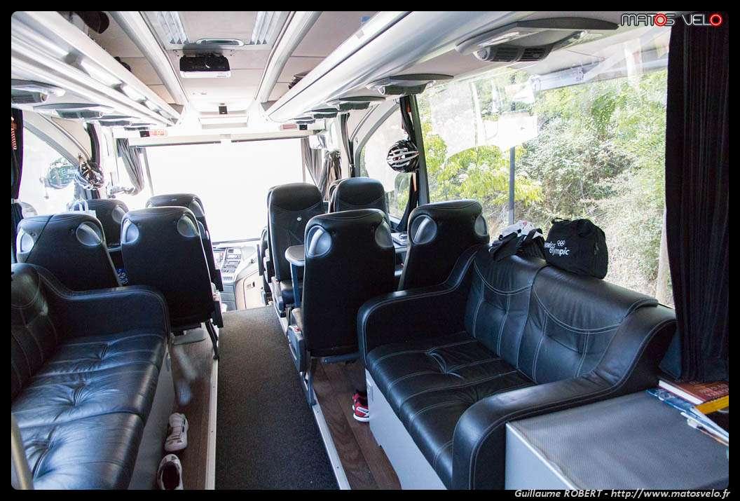 visite du bus de l 39 quipe trek factory racing matos v lo actualit s v lo de route et tests de. Black Bedroom Furniture Sets. Home Design Ideas