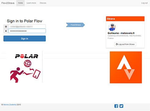 Synchronisez vos activités Polar Flow avec Strava grâce à