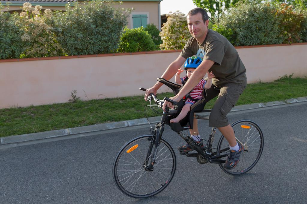 Test Du Porte Bébé Vélo Weeride K Luxe Matos Vélo Actualités Vélo - Vélo porte bébé