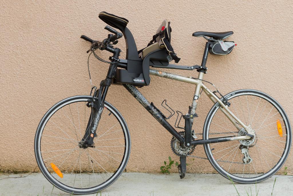 Test Du Porte Bébé Vélo Weeride K Luxe Matos Vélo Actualités Vélo - Porte bébé pour vélo