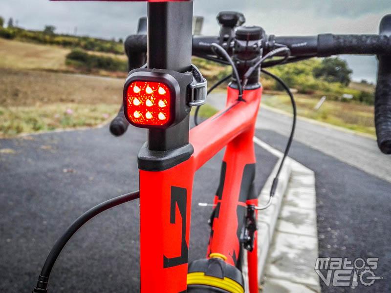 NOUVEAU! Toutes les configurations Knog Blinder Mini Chippy DEL Lumière Vélo Noir