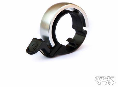 Knog cloche oi Small en noir-Vélo Sonnette en aluminium
