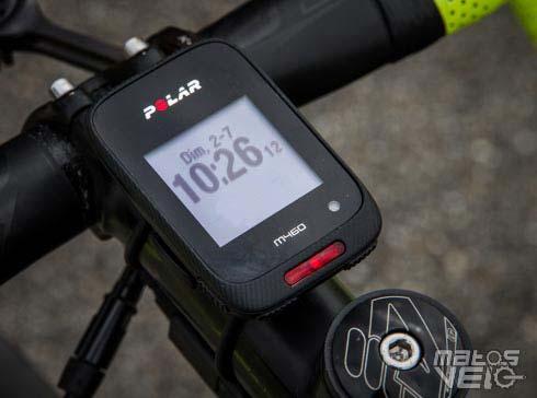 Polar Noir /& Smart Kit Cadence Bluetooth M460 Compteur V/élo GPS Int/égr/é avec Ceinture Capteur de Fr/équence Cardiaque