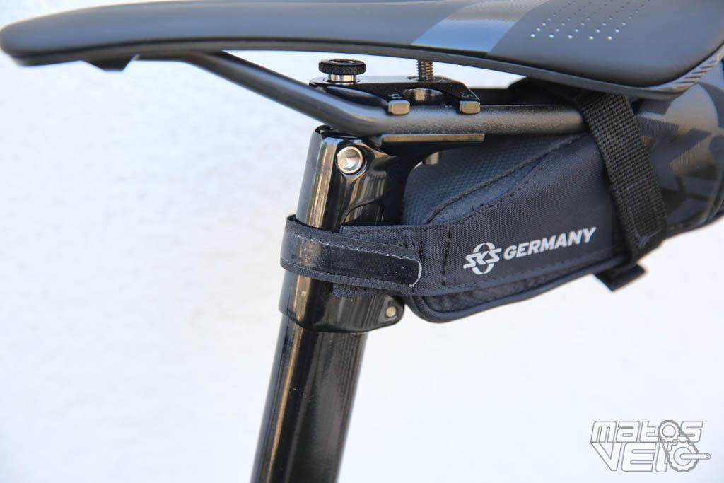 SKS Racer Straps 300 effet Sportif Sacoche De Selle Avec Velcro Fixation