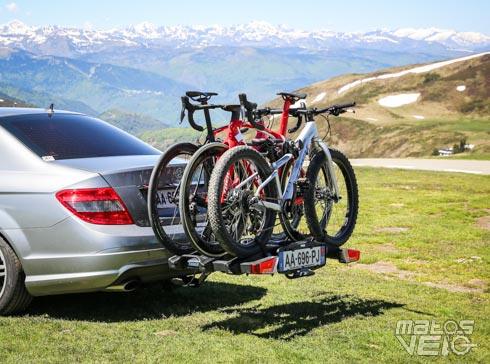 best loved outlet online new collection Test du porte-vélos sur attelage Thule EasyFold XT 3 vélos ...