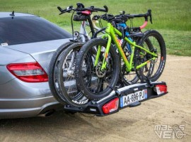 test du porte v los sur attelage thule velospace xt 3. Black Bedroom Furniture Sets. Home Design Ideas