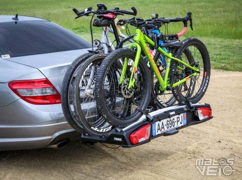 Test Du Porte Vélos Sur Attelage Thule Velospace Xt 3 Voire 4 Vélos