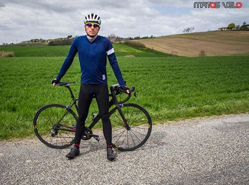 tenue cycliste hiver pro