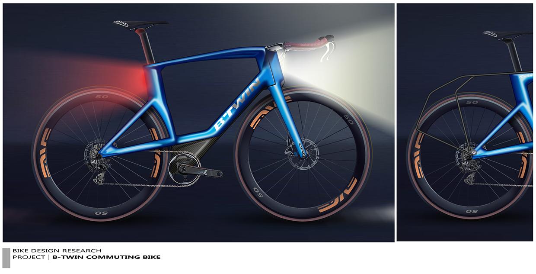 Pour vous, c'est quoi le vélo idéal ? BTWIN-Commuting-Bike-Xavier-LESCOURRET-2